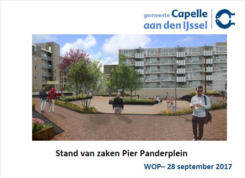 Impressie en Planning verbouw Pier Panderplein Schollevaar