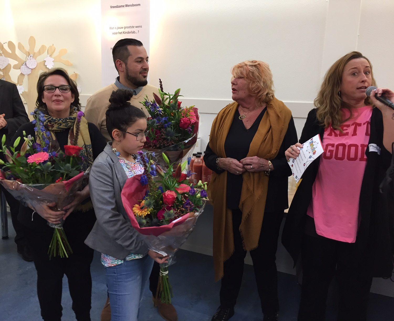 Kinderlab in Schollevaar feestelijk geopend….!